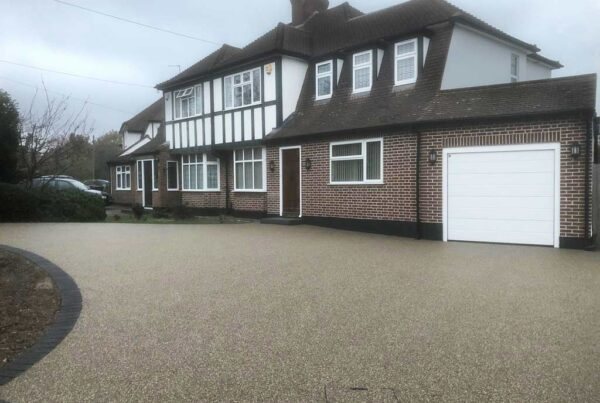 New resin driveway in Bromley